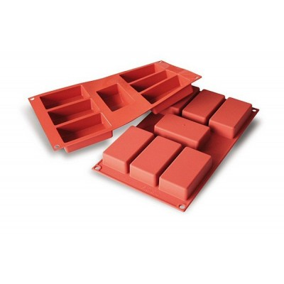 Moule en silicone rectangles
