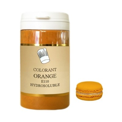 Colorant en poudre orange 10g