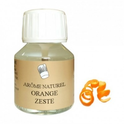 Arôme orange naturel note zeste 58mL