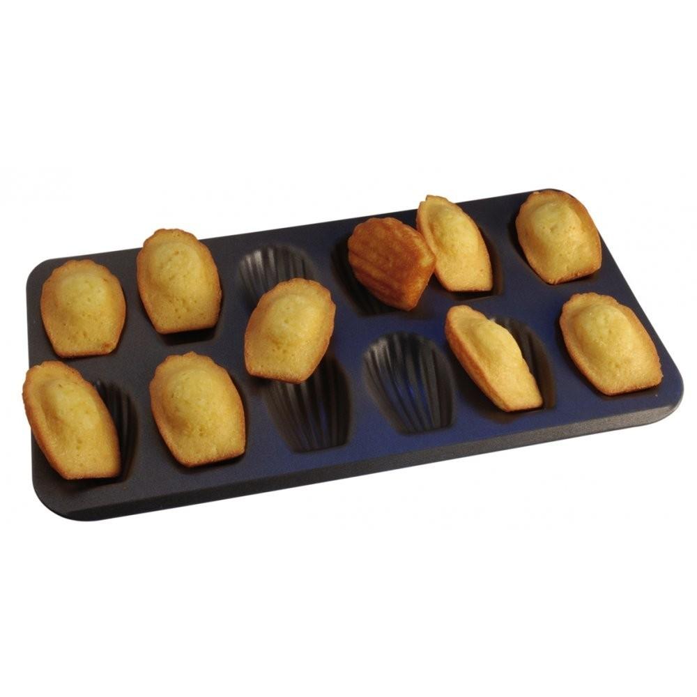Moule à madeleines anti-adhérent