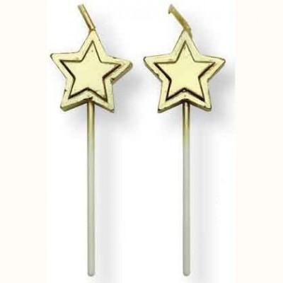 Bougies étoiles x8