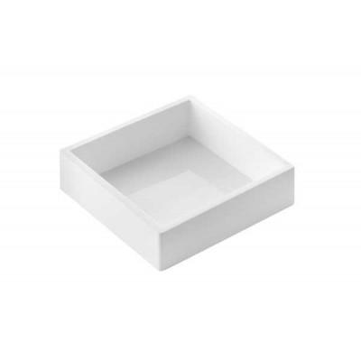 Moule à manqué carré en silicone 18x18cm H5