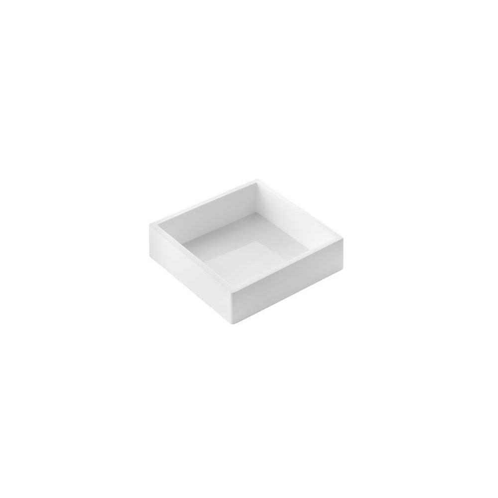 Moule en silicone Tortaflex carré 18x18cm H5
