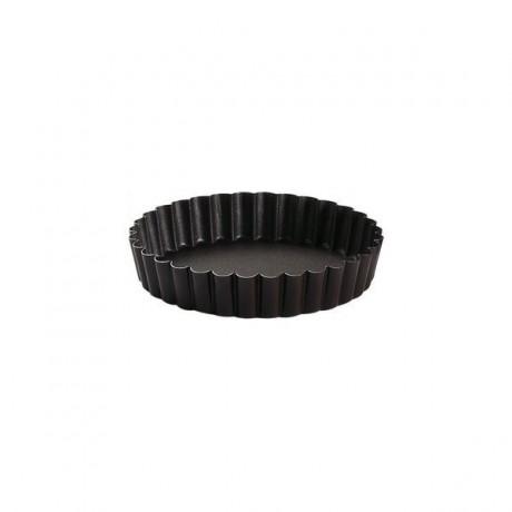 Tartelette ronde cannelée anti-adhérent Ø10cm