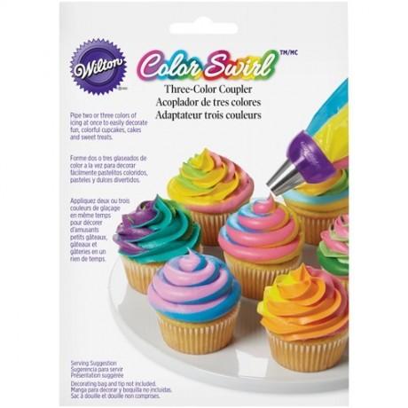 Douille de décoration Color Swirl