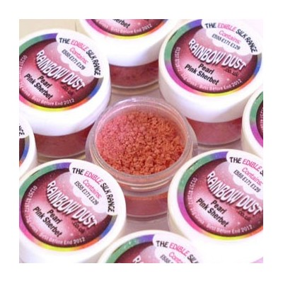 Colorant de surface irisé rose