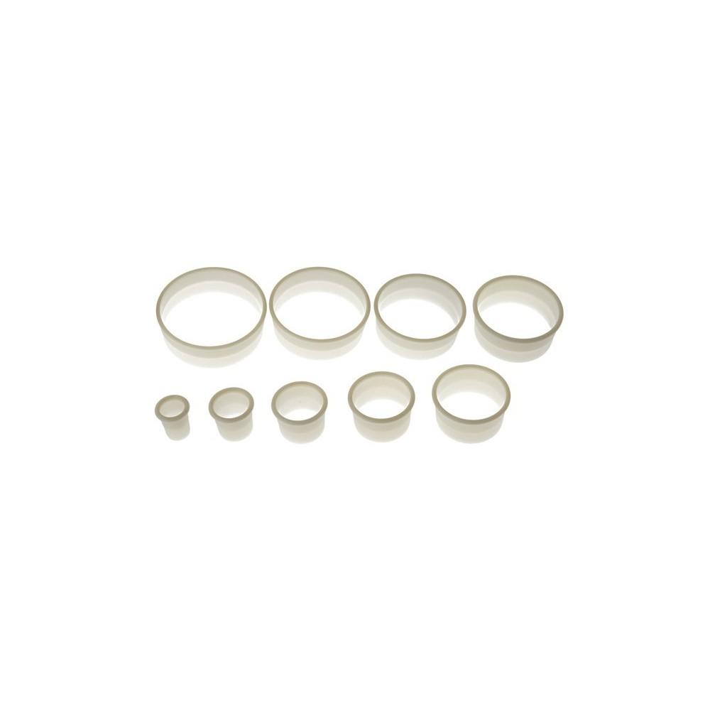 Set d'emporte-pièces ronds unis x9