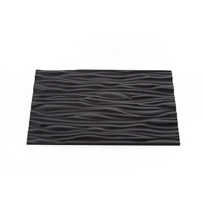 Tapis relief en silicone effet bois