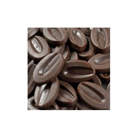 Andoa Noire 70% BIO chocolat de couverture noir en fèves 500g VALRHONA