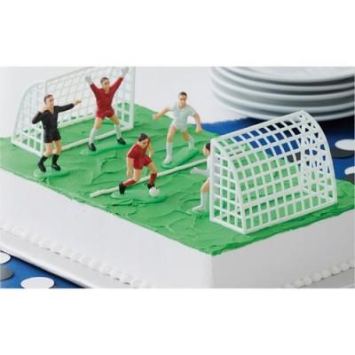 Set de décoration en plastique football