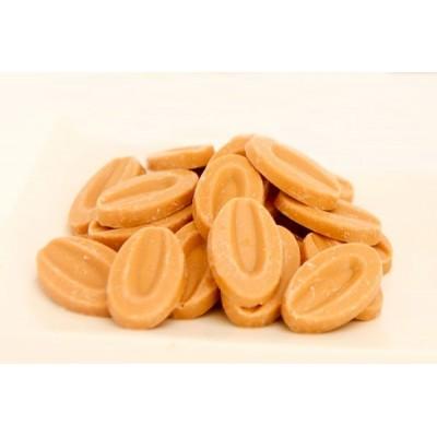 Dulcey 32% - Création gourmande chocolat blond en fèves 200g VALRHONA