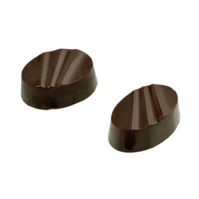 Moule à chocolat en polycarbonate bonbons ovales triés
