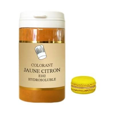 Colorant en poudre jaune citron 10g