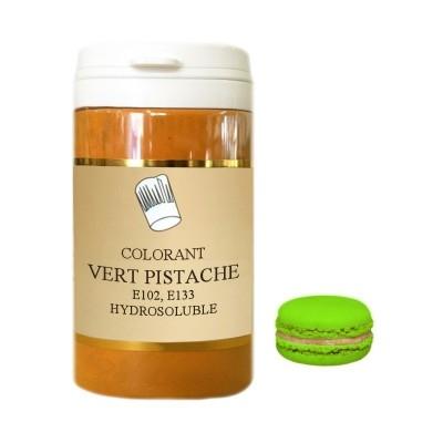 Colorant en poudre vert pistache 10g