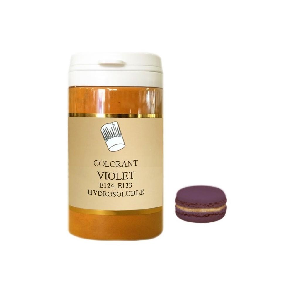Colorant en poudre violet