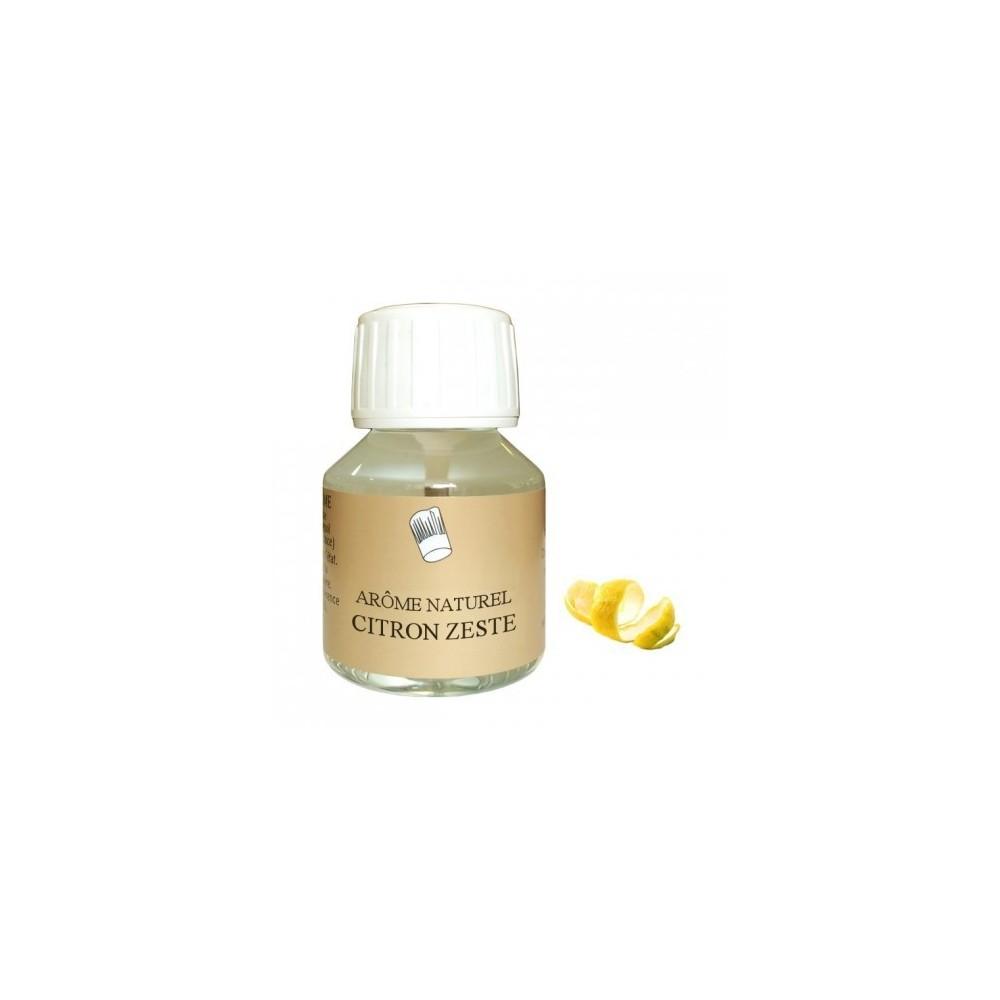 Arôme citron zeste naturel 58mL