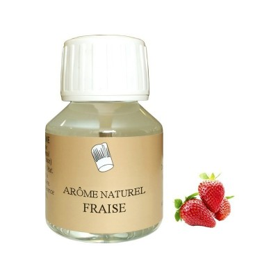 Arôme fraise naturel 58mL