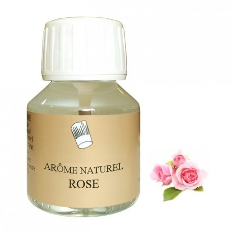 Arôme naturel rose 58mL