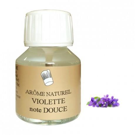 Arôme naturel violette 58mL
