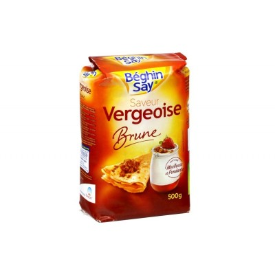 Vergeoise brune 500g