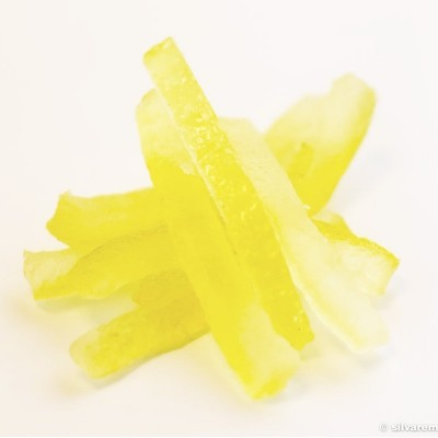 Ecorces de citron confit en lamelles