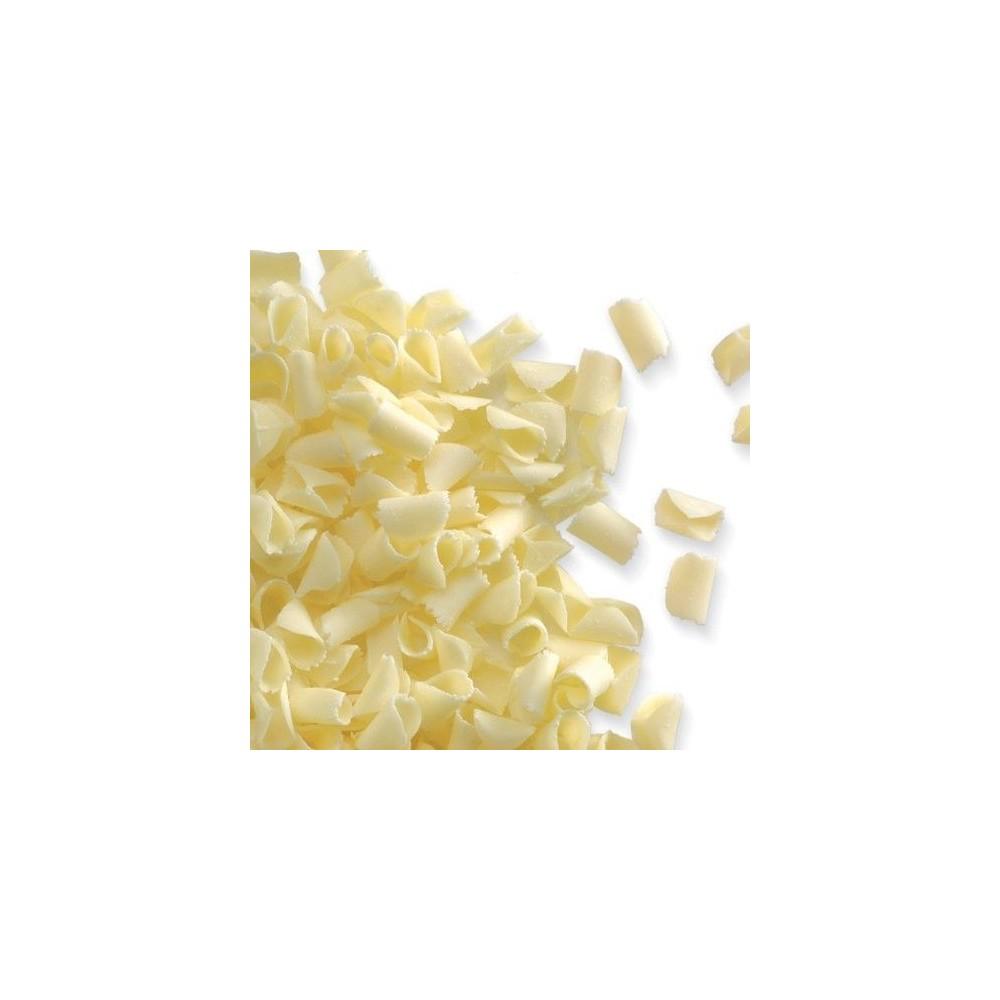 Copeaux de chocolat blanc 85g