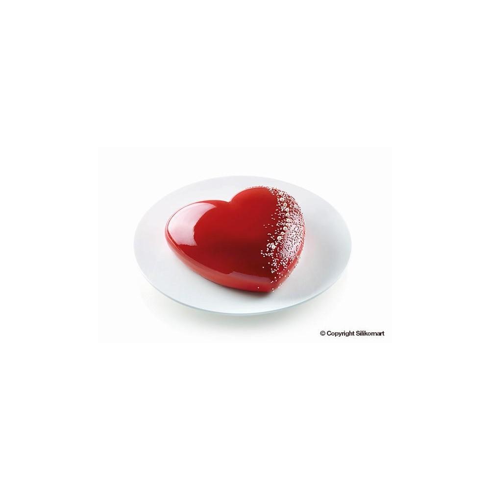 Moule en silicone coeur Batticuore