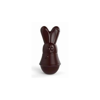 Moule lapine en pvc thermoforcé Valrhona H14cm