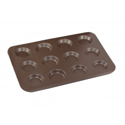 Plaque à 12 mini tartelettes