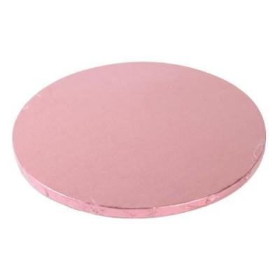 Support à gâteau rond rose Ø25cm