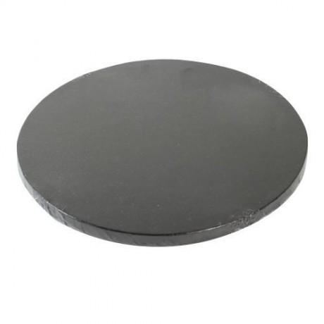 Support à gâteau rond noir Ø25cm
