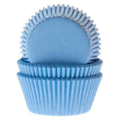 Caissettes bleues x50