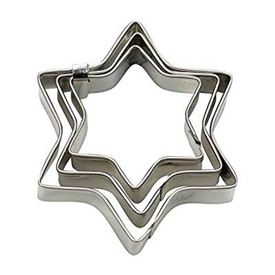 Set de 3 Emporte-pièce étoile stadter