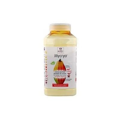 Beurre de cacao Mycryo 550g cacao barry