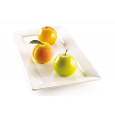 Moule en silicone pomme-pêche silikomart