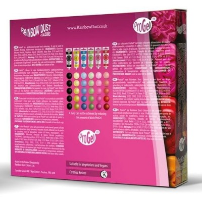 Pack de 6 colorants Progel