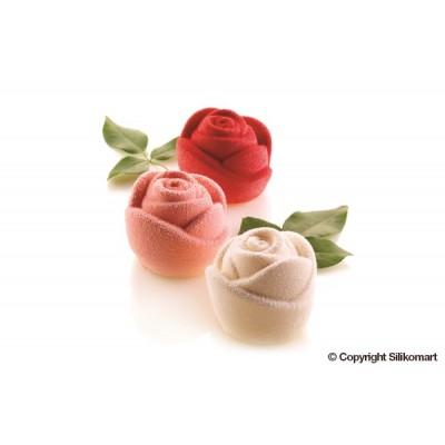 Moule en silicone roses