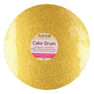 Support à gâteau rond or Ø30cm