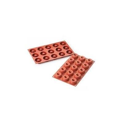 Moule en silicone donuts mini silikomart