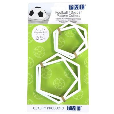 Emporte-pièce pentagone pour ballon de foot