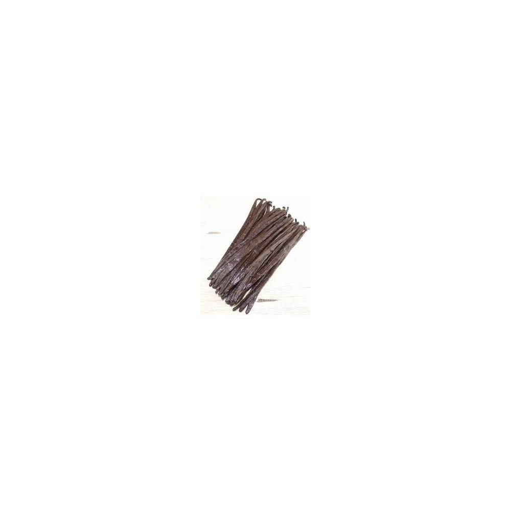 250g Gousses de vanille noire Gourmet Madagascar BIO