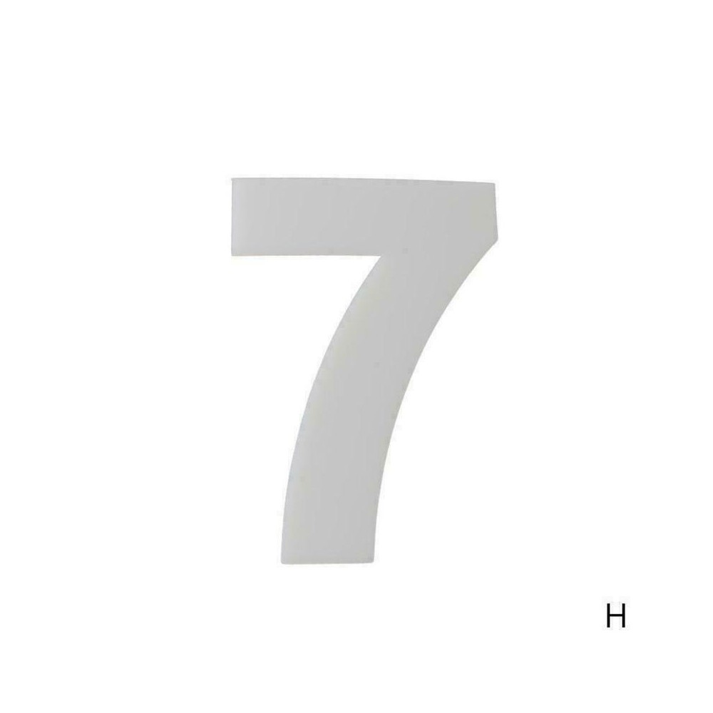 Gabarit 7 pour Number cake
