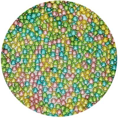 Perles de sucre métallisé arlequin funcakes