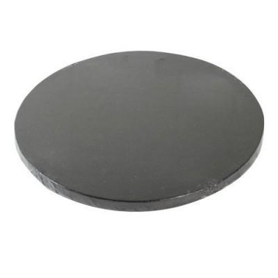 Support à gâteau rond noir Ø30cm funcakes