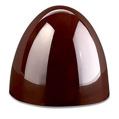 Plaque à chocolat forme coupole