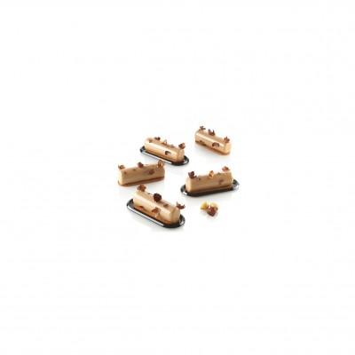 Moule en silicone mini cylindre silikomart professional