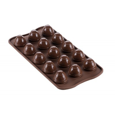 Moule à chocolat en silicone Choco Spiral silikomart