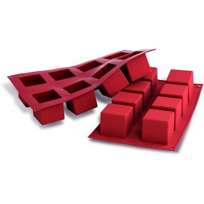 Moule en silicone 8 cubes silikomart
