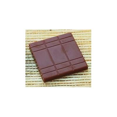 Moule à chocolat en polycarbonate carré fin