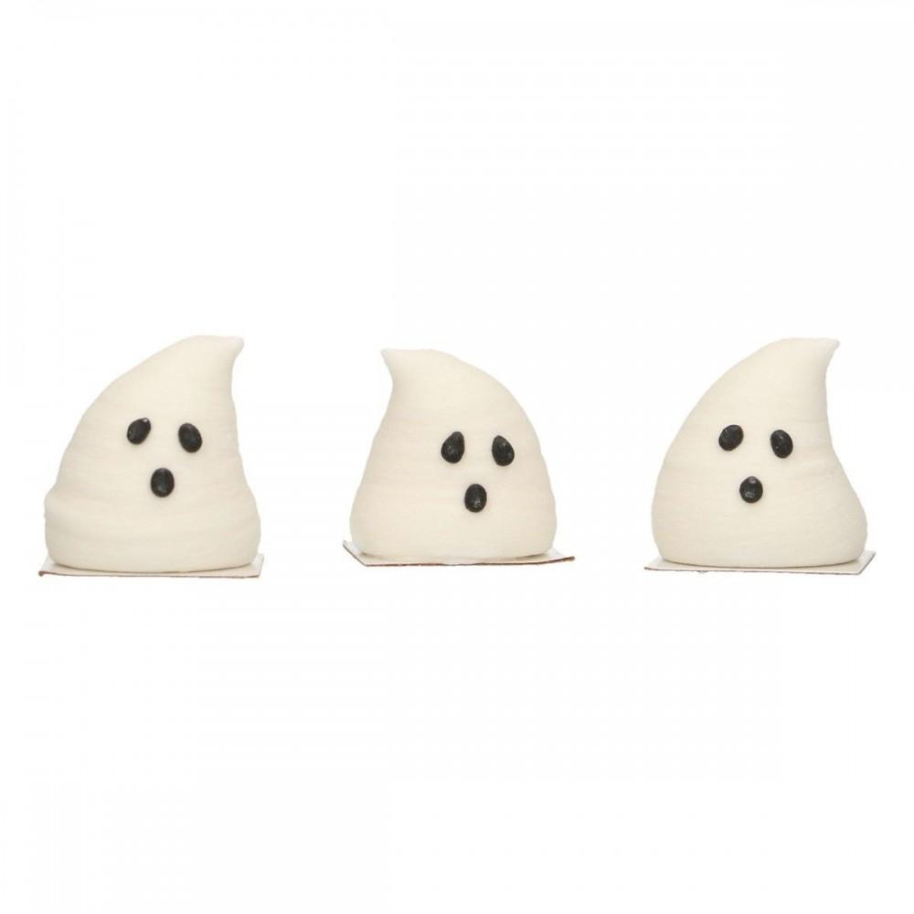 Fantômes en 3D en sucre Funcakes x3